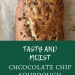 Chocolate Chip Sourdough Banana Bread
