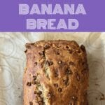 Put that sourdough starter discard to good use and make this delicious, quick and simple Chocolate Chip Sourdough Banana Bread!