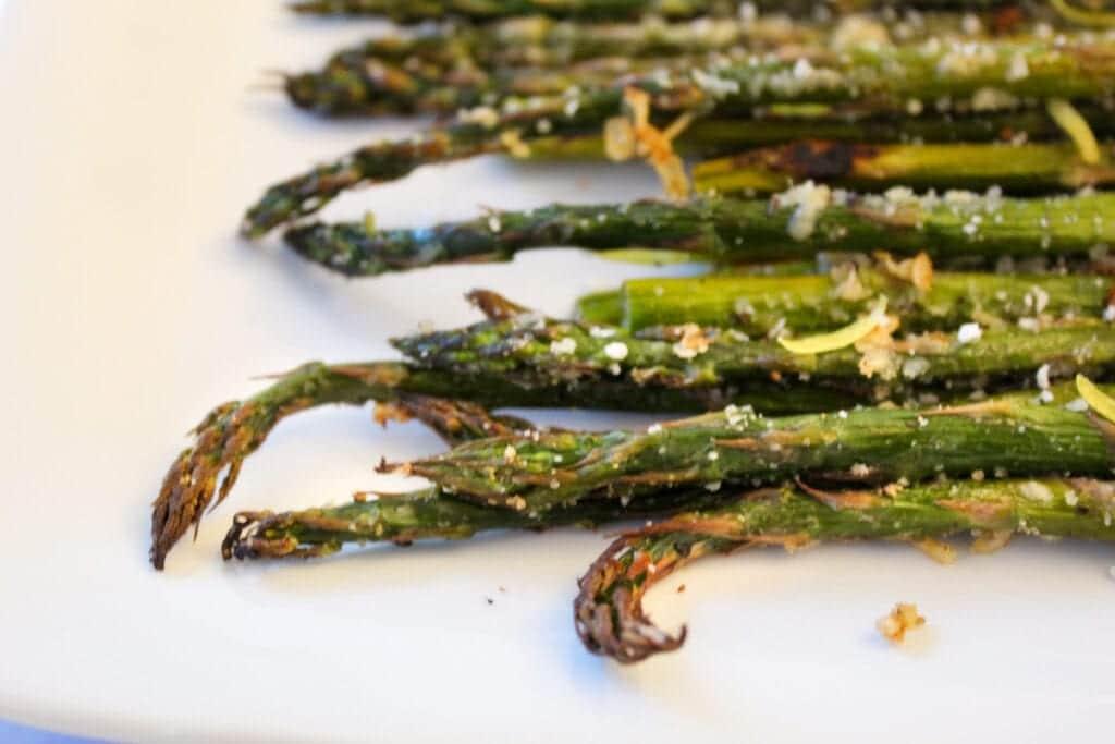 Roasted Asparagus with Lemon and Garlic