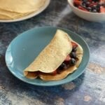 Crepes with Nutella and Berries