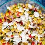 Corn and Feta Salad